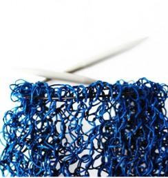 Papierkordel Tasche Strick