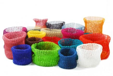 PaperPhine: Papierkordel Papierschnur Strickkorb