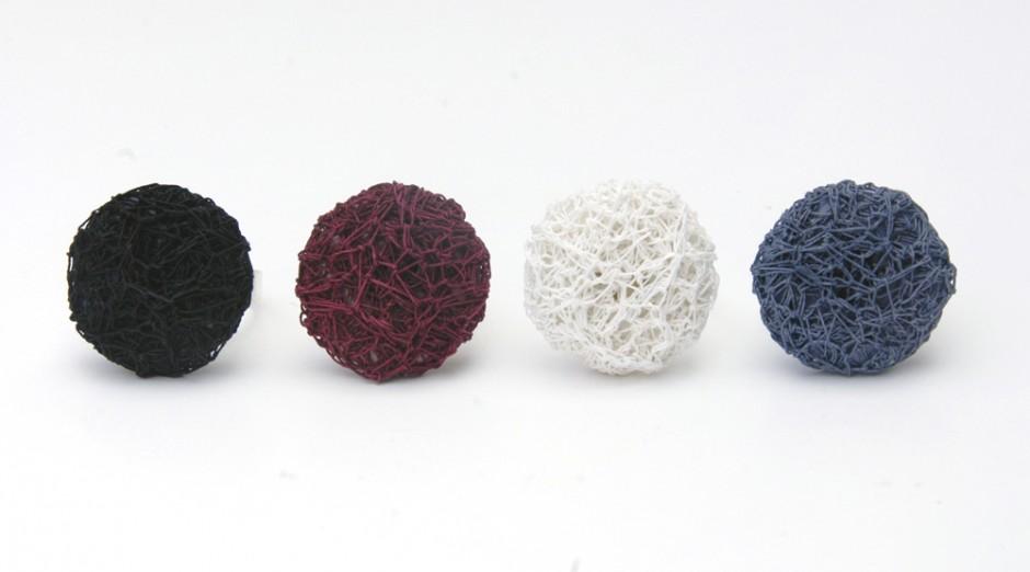 PAperPhine: Button Ring : Färben  Aus Weiß wird bunt