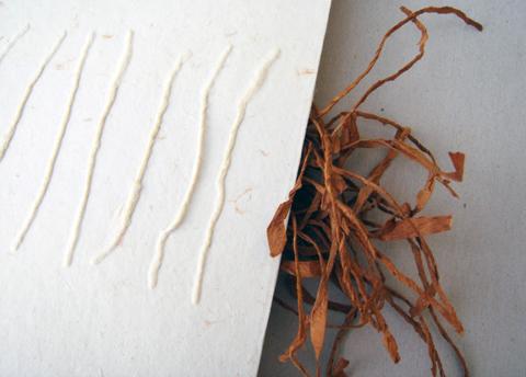PaperPhine: Künstlerbuch - Papiergarn, Shifu, Papierschöpfen