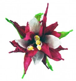PaperPhine: Papierblume - Blume aus Papierschnur