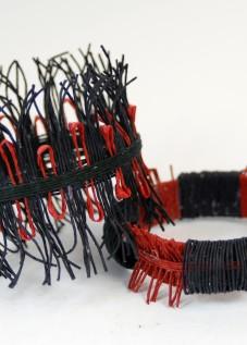 PaperPhine: Papierschnur - Armreifen - aus Papierkordel, Papierschmuck