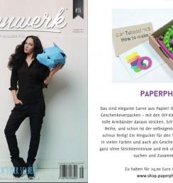 PaperPhine: Eigenwerk Magazin