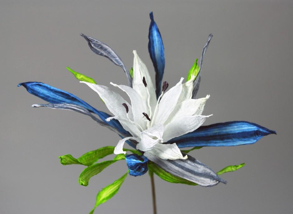 PaperPhine: Papierblume - Blume aus Papierschnur - Papier