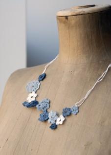 PaperPhine: Häkelblumen aus Papiergarn