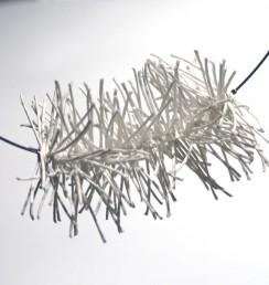 PaperPhine: Halsreif - Kette Papierschnur Papierkordel