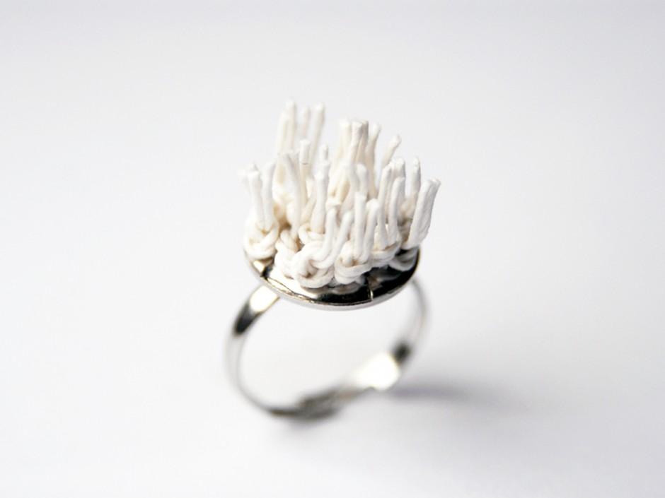 PaperPhine: Ring - Knotenring - Ring mit Papierschnur
