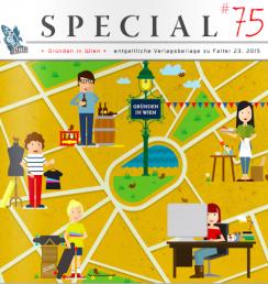 PaperPhine in Print: Falter Special 75 - Gründen in Wien
