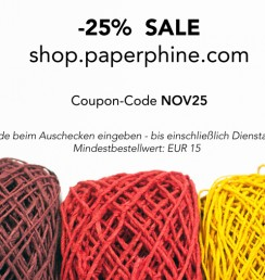 PaperPhine - Sale - Deutsch Papierkordel - Vorschau