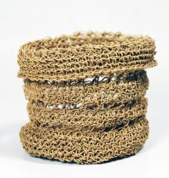 PaperPhine - Papierkordel - Papierschnur Korb - Häkeln - Basket - Crochet - Papertwine Paperyarn