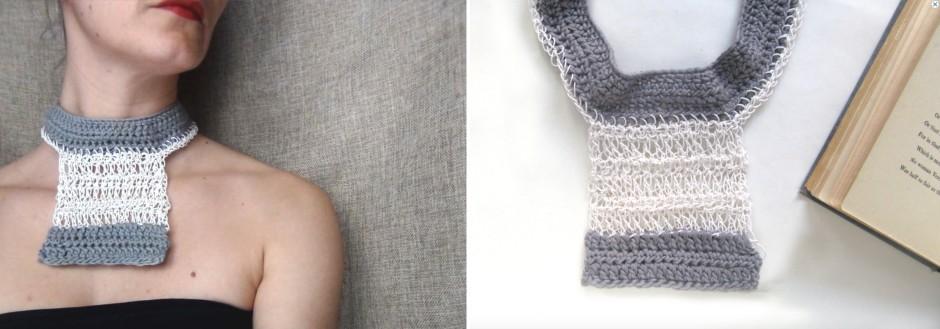 PaperPhine - WearitCrochet - Crochet - Paperjewelry - Paperyarn - Penny Chorafa - 01