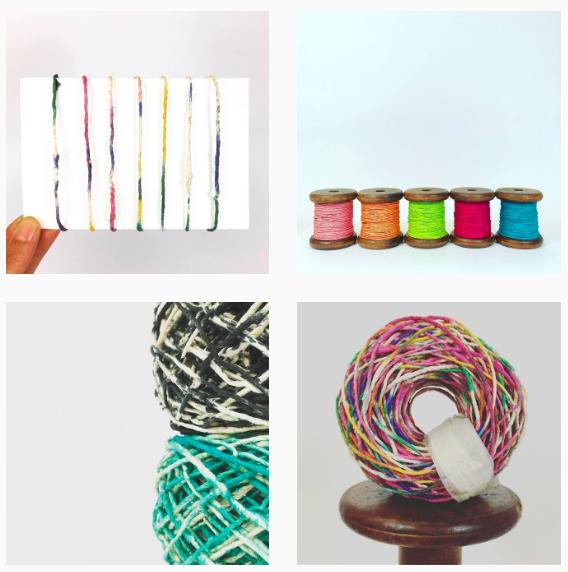 PaperPhine - Instagram - Papierschnur und Papiergarn