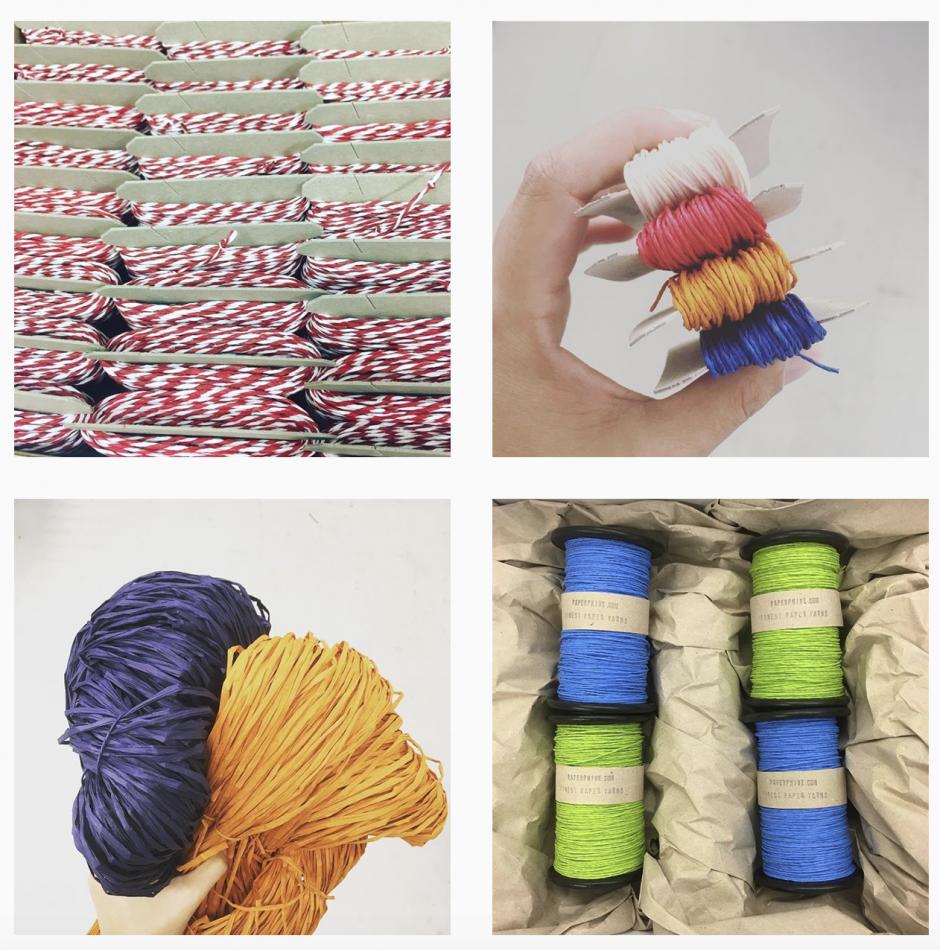 PaperPhine: Papierschnüre und Papierkordeln - Instagram